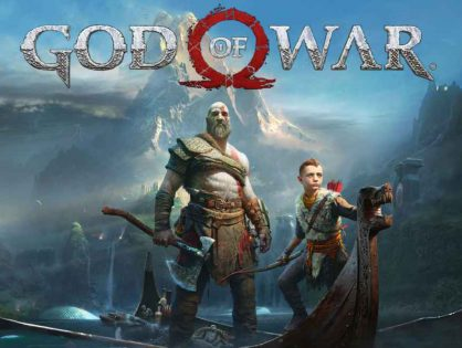 NOVO GOD OF WAR CHEGA EM ABRIL PARA PS4