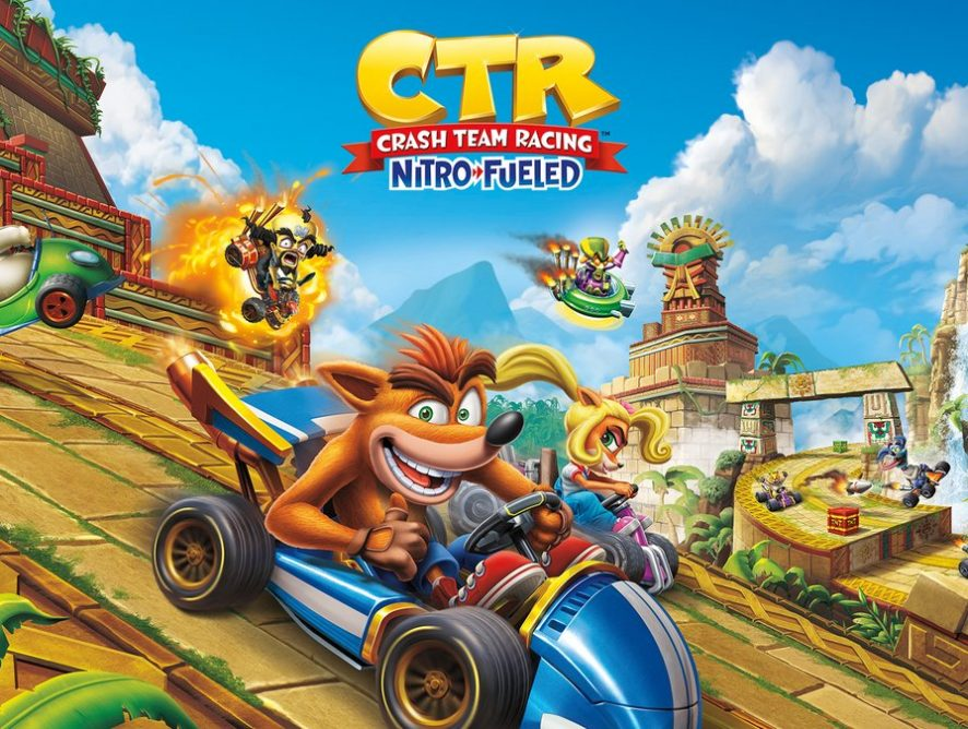 CRASH TEAM RACING: NOSTALGIA E NOVOS GRÁFICOS